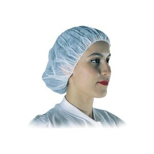"Nylon Hairnet White 18"" Case of 1000 pieces"