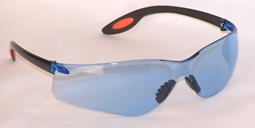 Aries Safety Glasses Light Blue Lenses