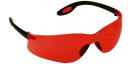 Aries Safety Glasses Vermilion Lenses