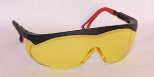 Titans Safety Glasses Amber Yellow Lenses