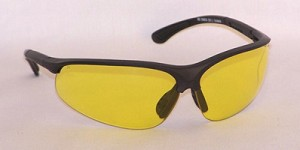Neptunes Safety Glasses Amber Yellow Lenses