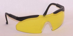Cronos Junior Safety Glasses  Amber Yellow Lenses