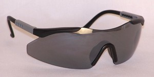 Cronos Safety Glasses  Silver Mirror Lenses