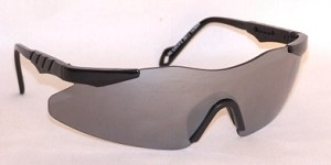 Zephyrs Safety Glasses Silver Mirror Anti-Fog Lenses