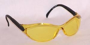 Europas Safety Glasses Amber Anti-Fog Lenses