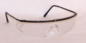 Mercury Safety Glasses Clear Lenses