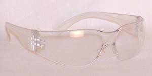 Case Chirons S2800 Safety Glasses Clear Lenses 144 Pairs