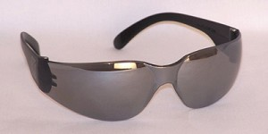 Chirons Safety Glasses Silver Mirror Lenses