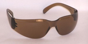 Chirons Safety Glasses Mocha Brown Lenses