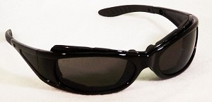 EOS Convertible Safety Glasses Sunglass Grey Lenses
