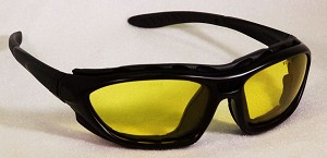 Chameleos I Convertible Safety Glasses Amber Yellow Lenses