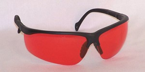 Gorgons Safety Glasses Vermilion Lenses