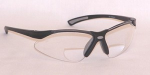 VenusX Safety Reading Glasses Bifocals Clear +2.0