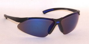 VenusX Safety Glasses Blue Mirror Lenses