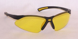 VenusX Safety Glasses Amber Yellow Lenses