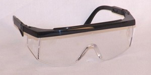 Legasy Safety Glasses Clear Lenses