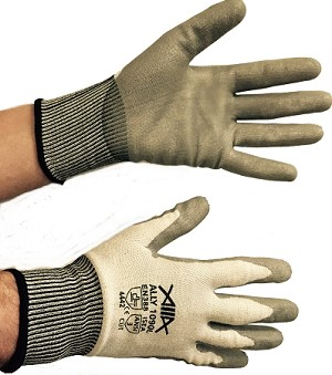 PU Coated Cut Resistant Gloves 1 PAIR