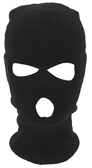 Balaclava Ski Mask Black