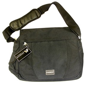 Everest Messenger Portfolio Soft Briefcase Bag