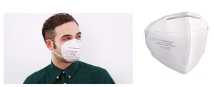 KN95 Particulate Respirators Masks 2 Packs of 5 (10 total pieces)