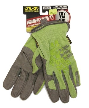 Mechanix Wear Women's Utility Work Glove Green