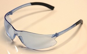 Aries Lite Safety Glasses Blue Lenses