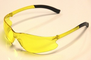Aries Lite Safety Glasses Yellow Lenses
