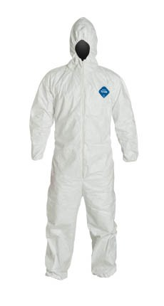 DUPONT TYVEK Coveralls Hood TY127S Case of 25
